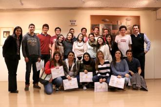 Liceo Hermanas Capuchinas visita el BCU y participa del Proyecto Facilitadores