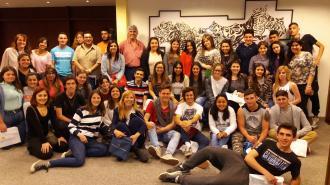 Talleres de Sistema Financiero y Política Monetaria   Estudiantes del Liceo 1 de Atlántida
