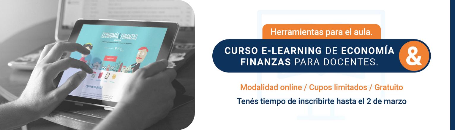 CURSO E-LEARNING DE ECONOMÍA Y FINANZAS PARA DOCENTES